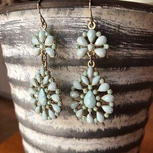 New! Light Turquoise Earrings